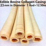 5X saucisse comestible de veau Collagène boîtiers 23mm de diamètre Longueur totale 5x 12.5m de la marque devro image 1 produit