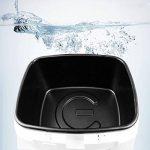 Aigostar Indra 30HEX - Friteuse 100% sans BPA avec grande fenêtre de vue, thermostat réglable et indicateurs lumineux. Couleur blanche, 1800W, capacité de 2,5L. Design exclusif. de la marque Aigostar image 4 produit