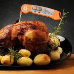 Alpha grillers Thermomètre Lecture instantanée. Ultra rapide Outil numérique de cuisine avec la température interne de la viande pour barbecue Tableau. (printemps Loaded thermabud) de la marque Alpha 8 image 2 produit