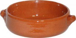 Amazing Cookware Plat creux en terre cuite naturelle 15cm de la marque Amazing Cookware image 0 produit
