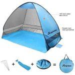 Anpress Outdoor Automatique Pop up Beach Tent Portable Cabana Anti UV 50+ Canopy Sun Shade Sport Shelter Sun Shelter pour famille Enfants Baby Outdoor Camping Pêche Pique-nique Randonnée de la marque Anpress image 2 produit