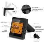 Antennes viande Thermomètre numérique avec sonde de température, Bluetooth Barbecue Thermomètre de la marque ICOCO image 1 produit