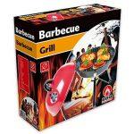 Barbecue au charbon de bois Barbecue de camping portable de style BBQ Ø 36cm Rouge + 1paquet de allumettes XL de la marque BBQ Collection image 1 produit