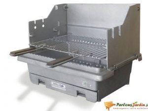 Barbecue à charbon de bois en fonte Carbonne de la marque Delta image 0 produit