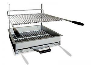 Barbecue à charbon de bois à poser en acier Adge de la marque Delta image 0 produit