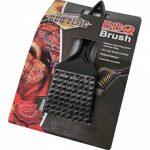 Barbecue en poils de brosse en laiton avec grattoir en métal Lot de 2 de la marque Kingfisher image 1 produit