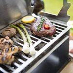 Barbecue portable Fennek - Barbecue à charbon de bois - Taille d'une tablette/ordinateur portable - Barbecue d'extérieur pour camping, pique-nique de la marque FENNEK GRILL image 2 produit