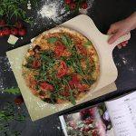#benehacks Pierre à pizza pour four & Grill – Pâte à Pizza, Pain et Gâteaux – Kit avec Pierre, Livre de Recettes à Pizzas et Pelle à Pizza de la marque #benehacks image 1 produit