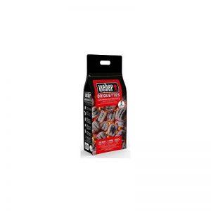 Briquettes de Charbon de Bois - 2kg - Weber de la marque Weber image 0 produit