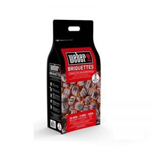 briquettes de charbon de bois weber TOP 2 image 0 produit