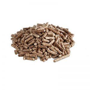 BURNHARD Pellets de bois 10 kg granulés de bois pour poêle, pellets à haute efficacité énergétique, pellets pour gril (utilisables même comme litière en granulés pour animaux domestiques) de la marque BURNHARD image 0 produit