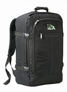 Cabin Max - Sac à dos et bagage à mains pour cabine- capacité brute de 44l… de la marque Cabin Max image 0 produit