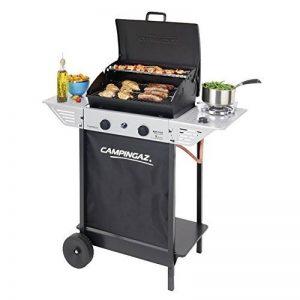 Campingaz Barbecue à gaz Xpert 100 LS, chariots avec deux brûleurs, réchaud latéral et thermomètre de la marque Campingaz image 0 produit