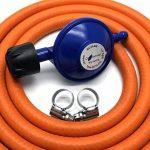 Campingaz type 30mbar Régulateur de gaz avec tuyau de 2m + 2clips Compatible avec 907904901 de la marque Other image 1 produit