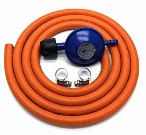 Campingaz type 30mbar Régulateur de gaz avec tuyau de 2m + 2clips Compatible avec 907904901 de la marque Other image 0 produit