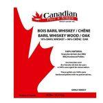 Canadian Pure and Simple ♨ Granulés de Bois de Fumage Barbecue : Mélange Bois Baril Wiskey + Bois de Chêne - spécial fumoir [18 kg] de la marque Canadian Pure and Simple image 1 produit
