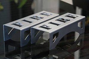 Chenets compacts pour poêles et inserts, design moderne et épuré « FIRE » de la marque CFL Clever Fire Lighter image 0 produit