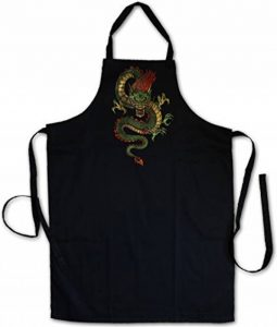 CHINESE DRAGON TABLIER DE CUISINE APRON CUISSON GRIL BBQ Barbecue – Dragon Fantasy Tattoo Monster Japanese Asia Medieval Larp Monster Dungeons Knight Oldschhool Flash de la marque Urban Backwoods image 0 produit