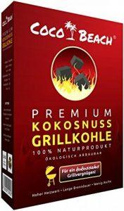 CocoBach Premium Barbecue à Charbon (2,5 kg) - 100% Noix de Coco [la meilleure viande de charbon pour le meilleur - extrêmement longue durée, sans produits chimiques, Très Forte chaleur] de la marque CocoBeach image 0 produit
