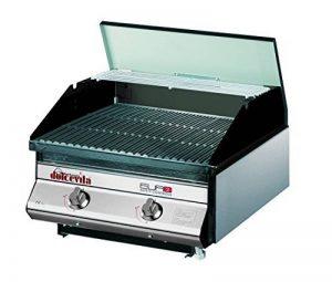 Dolcevita BBQ bde2av Barbecue à gaz avec soupape de sécurité à encastrer et soutien de la marque Dolcevita BBQ image 0 produit