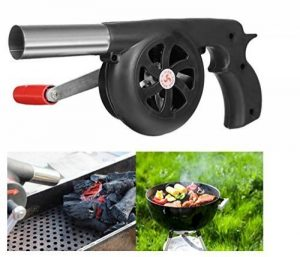 Fireangels manuel Fan Air Blower pour barbecue Fire Soufflet Cuisine en plein air pique-nique Camping à manivelle Outil de la marque FireAngels image 0 produit