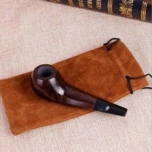 Fumer la pipe en bois d'ébène ébène,fait main tuyau tuyau de poulet de la marque SJMMYD image 0 produit