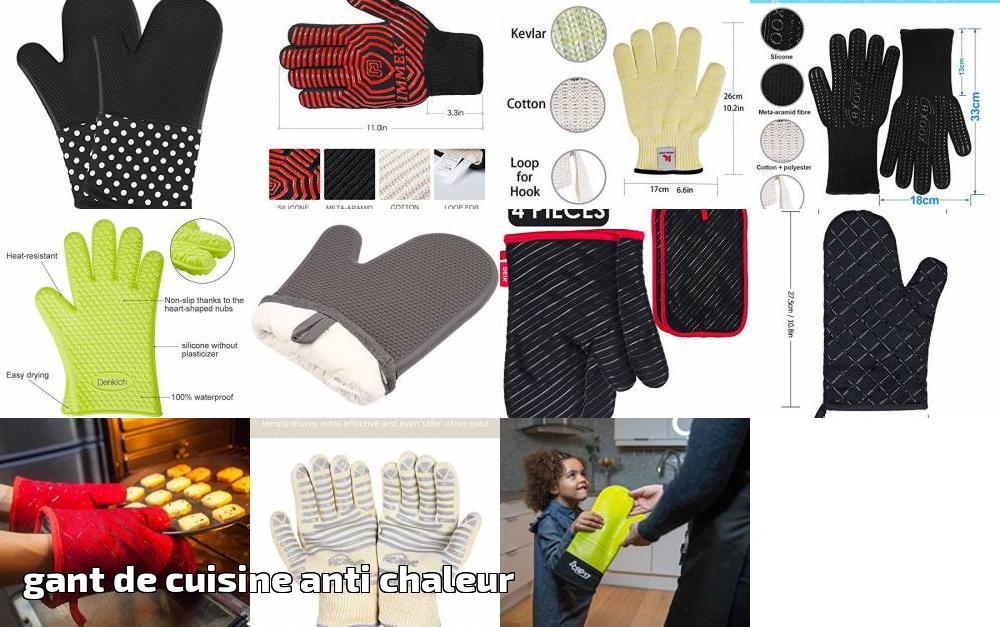 gant de cuisine anti chaleur Gant de cuisine anti chaleur faites des affaires pour 2019 | Top Barbecue