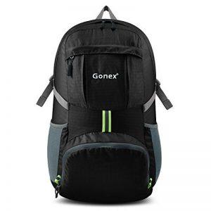 Gonex - Sac à dos pliable Sac sport ordinateur portable Sac imperméable unisexe- Pour camping, randonnée, voage, fitness Sac étanche bleu de 37L de la marque Gonex image 0 produit