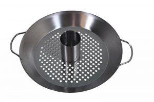 Gourmet BBQ Système Support de Volaille Poulet Griller & légumes Wok Plat de la marque HeRo24 image 0 produit