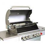 GREADEN Barbecue à gaz avec tournebroche DÖNER - 4 brûleurs + 1 brûleur infrarouge + 1 feu latéral avec tablettes latérales et thermomètre de la marque GREADEN image 2 produit