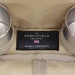 Greenfield Collection - Sac à dos de pique-nique Super Deluxe pour 2 personnes avec plaid assorti - Vert Forêt de la marque Greenfield Collection image 4 produit