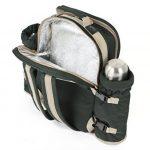 Greenfield Collection - Sac à dos de pique-nique Super Deluxe pour 4 personnes en Vert Forêt de la marque Greenfield Collection image 3 produit