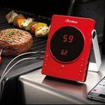 GrillEye GE0002Sonde professionnelle de cuisine, en aluminium - Rouge Thermomètre rouge de la marque GrillEye image 4 produit