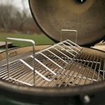 Grils de V-Rack de rôtissoire de BBQ, rôtissoire de rôtissage d'acier inoxydable de Dracarys adaptent le double pour l'oeuf vert et le Kamado Joe etc. de la marque Dracarys image 4 produit