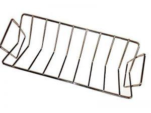 Grils de V-Rack de rôtissoire de BBQ, rôtissoire de rôtissage d'acier inoxydable de Dracarys adaptent le double pour l'oeuf vert et le Kamado Joe etc. de la marque Dracarys image 0 produit