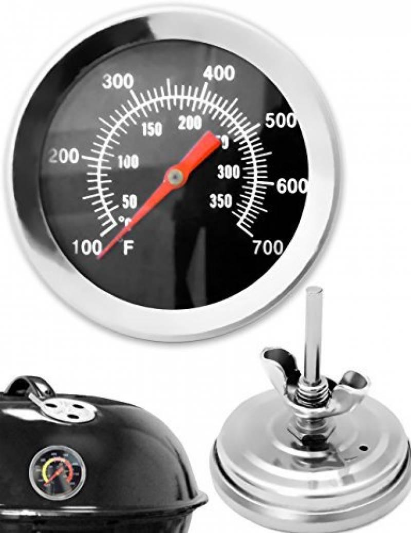Thermomètre Four À Pain 500 four analogique et bimétal 500 °c en acier inoxydable