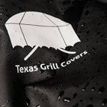 Housse de protection pour Weber Genesis E et S grills - Texas Grill Covers 7553 - incluant brosse et pince à barbecue de la marque Texas Grill Covers image 2 produit