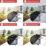 Housse Pour Barbecue,Bache Barbecue,Housse barbecue, Couvercle de gril à gaz lourd 145 x 61 x 117 cm Inclure une Pince de la marque TEPSMIGO image 3 produit