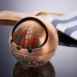 HUACANG Cendrier de couverture rotative coupe-vent, cendrier sphérique en métal vintage, cendrier de pharaon de style égyptien antique Cendrier de décoration de bureau à domicile (Couleur : G) de la marque HUACANG image 3 produit