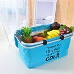 IHOMAGIC Sac isotherme pique-nique familial Cooler Sac de voyage isotherme Lunch Sac isotherme pour homme et femme, WD2-002, bleu ciel de la marque IHOMAGIC image 1 produit