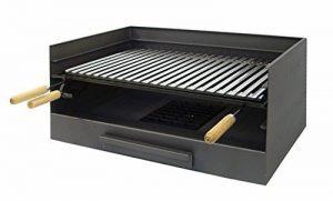IMEX EL ZORRO 71514 Bac avec plaque en inox pour barbecue 72 x 40 x 33 cm de la marque IMEX EL ZORRO image 0 produit