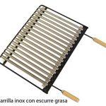 IMEX EL ZORRO 71514 Bac avec plaque en inox pour barbecue 72 x 40 x 33 cm de la marque IMEX EL ZORRO image 2 produit