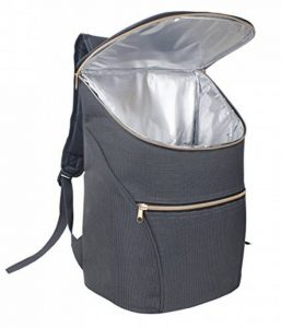 JSK élégant sac à dos isotherme Cooler Bag (Rose Zipper) de la marque Just Smart Kitchenware image 0 produit