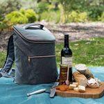 JSK élégant sac à dos isotherme Cooler Bag (Rose Zipper) de la marque Just Smart Kitchenware image 1 produit