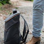 JSK élégant sac à dos isotherme Cooler Bag (Rose Zipper) de la marque Just Smart Kitchenware image 3 produit