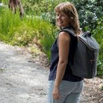 JSK élégant sac à dos isotherme Cooler Bag (Rose Zipper) de la marque Just Smart Kitchenware image 2 produit