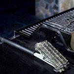 Juvale Barbecue Grill Brosse–Acier Inoxydable Tressé Fil Grille pour Barbecue Brosse et grattoir 45,7cm par de la marque Juvale image 4 produit