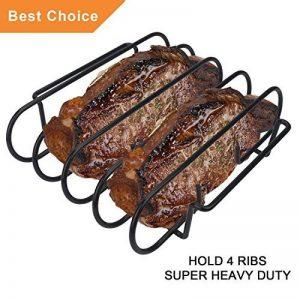KALREDE Spare Ribs et à rôti Rack,BBQ Accessoires,25 x 29 x 7,5cm de la marque KALREDE image 0 produit