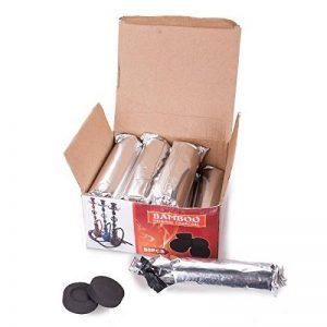 Kertou Cubes de combustible à charbon Carbone pour chicha Narguilé/shisha/barbecue Charbon de bois Noir de la marque Kertou image 0 produit