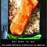 Koïgo Original Bento Lunch Box Noir, Set de 3 Couverts, Sac Isotherme et E-book avec 25 Recettes de Cuisine I Boîte Repas avec 2 Compartiments Hermétiques I sans BPA I Convient au Micro-ondes et Lave-vaisselle I Idéal pour vos Déjeuners au Bureau, à l'Eco image 3 produit